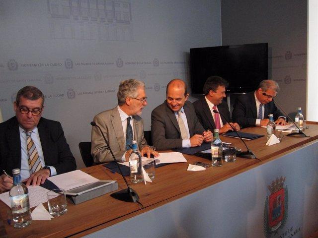 Firma del Convenio de Constitución del Instituto Euroafricano para la Gobernanza
