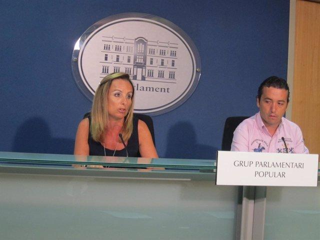 Cabrer y Rubio en rueda de prensa