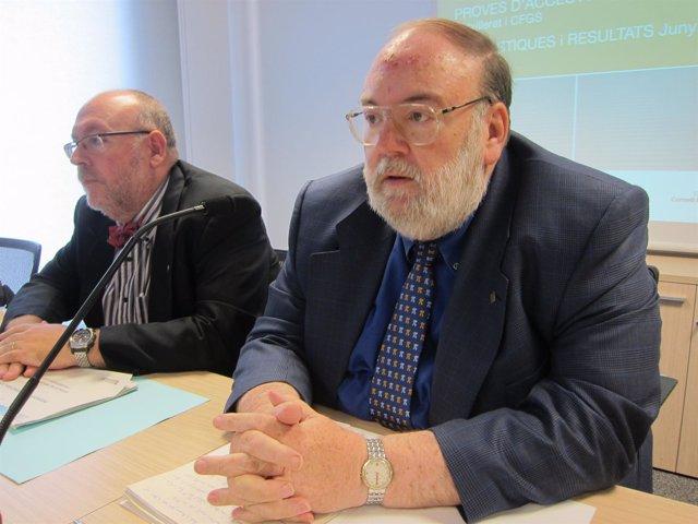Jesús Maria Prujà y Claudi Alsina (secretario del CIC)