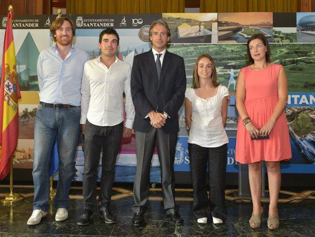 Entrega de premios del concurso Santander City Brain
