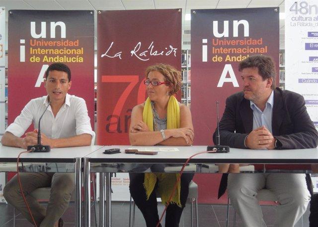 Javier Martín, Yolanda Pelayo y Joaquín López