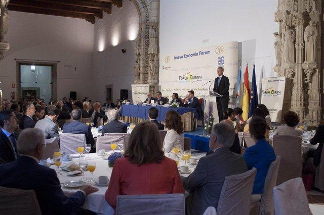 O vicepresidente da Xunta, Alfonso Rueda, pronunciará unha conferencia no Fórum