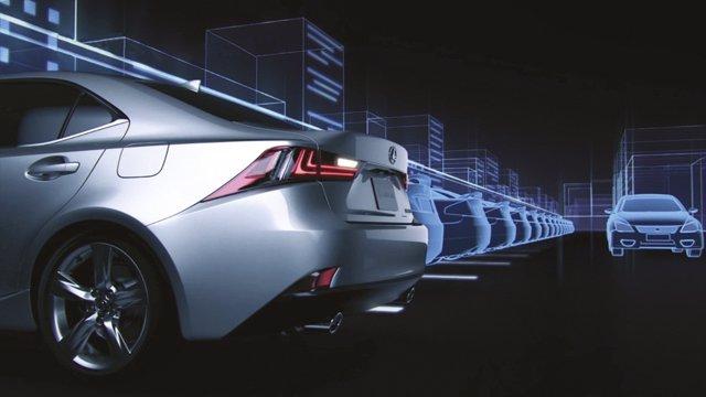 Dispositivos de seguridad del Lexus IS 300h