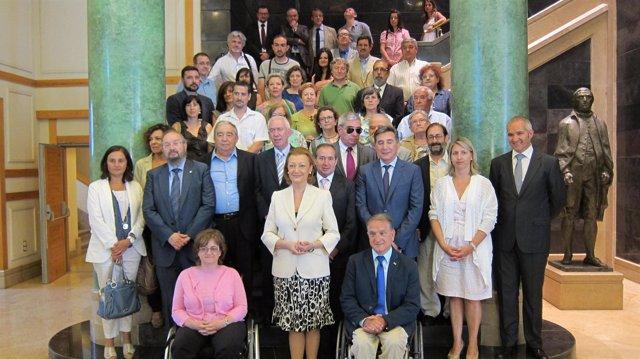 Gobierno y CERMI Aragón suscriben un acuerdo marco de colaboración