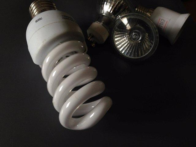 Recursos de luz, bombillas, electricidad
