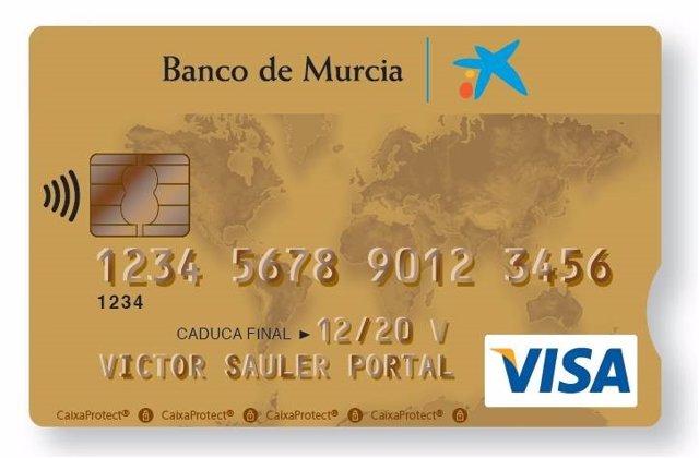 Visa Oro Banco Murcia