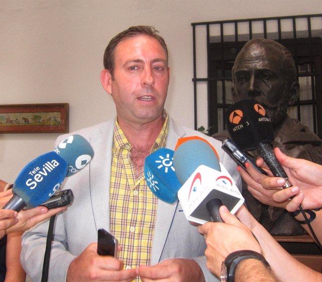El alcalde de Jun, José Antonio Rodríguez, este lunes