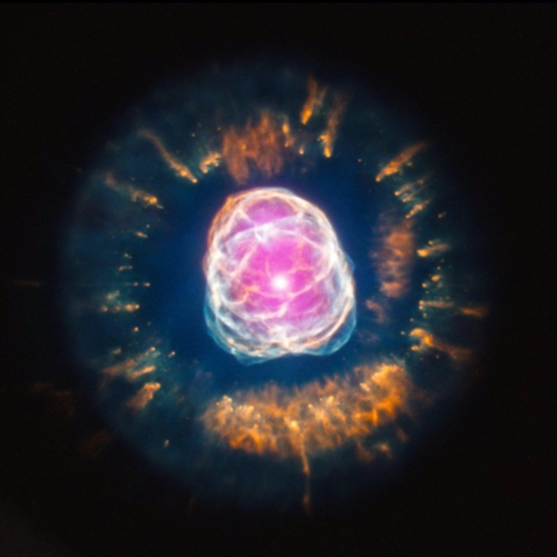 El telescopio Chandra muestra el fin de una estrella similar al Sol
