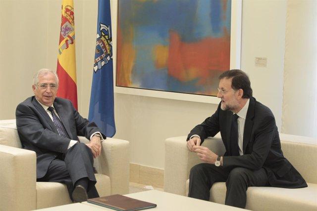 Mariano Rajoy y Juan José Imbroda
