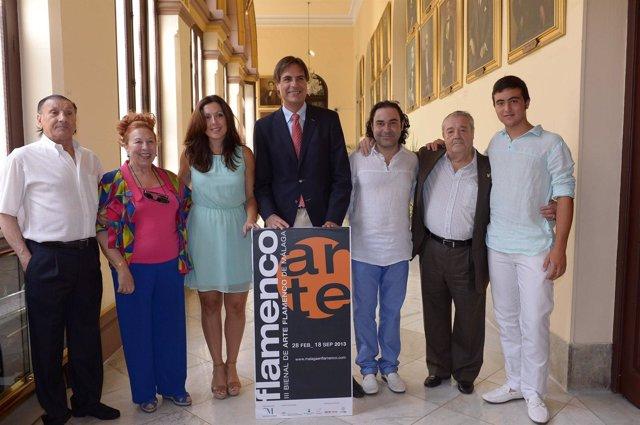 Marina Bravo y Damián Caneda  presenta elciclo en gibralfaro flamenco bienal