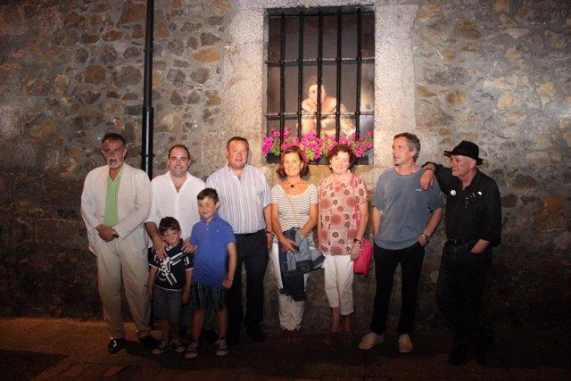 Inauguración iluminación casco viejo Laredo