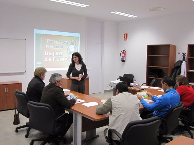 Taller de deshabituación tabáquica en Alcalá la Real