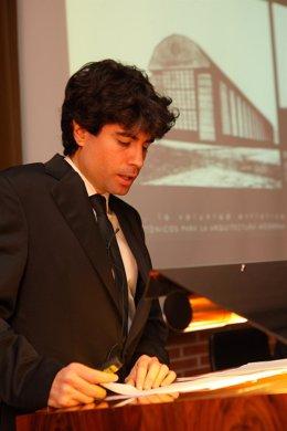 David Resano presenta su tesis sobre arquitectura.