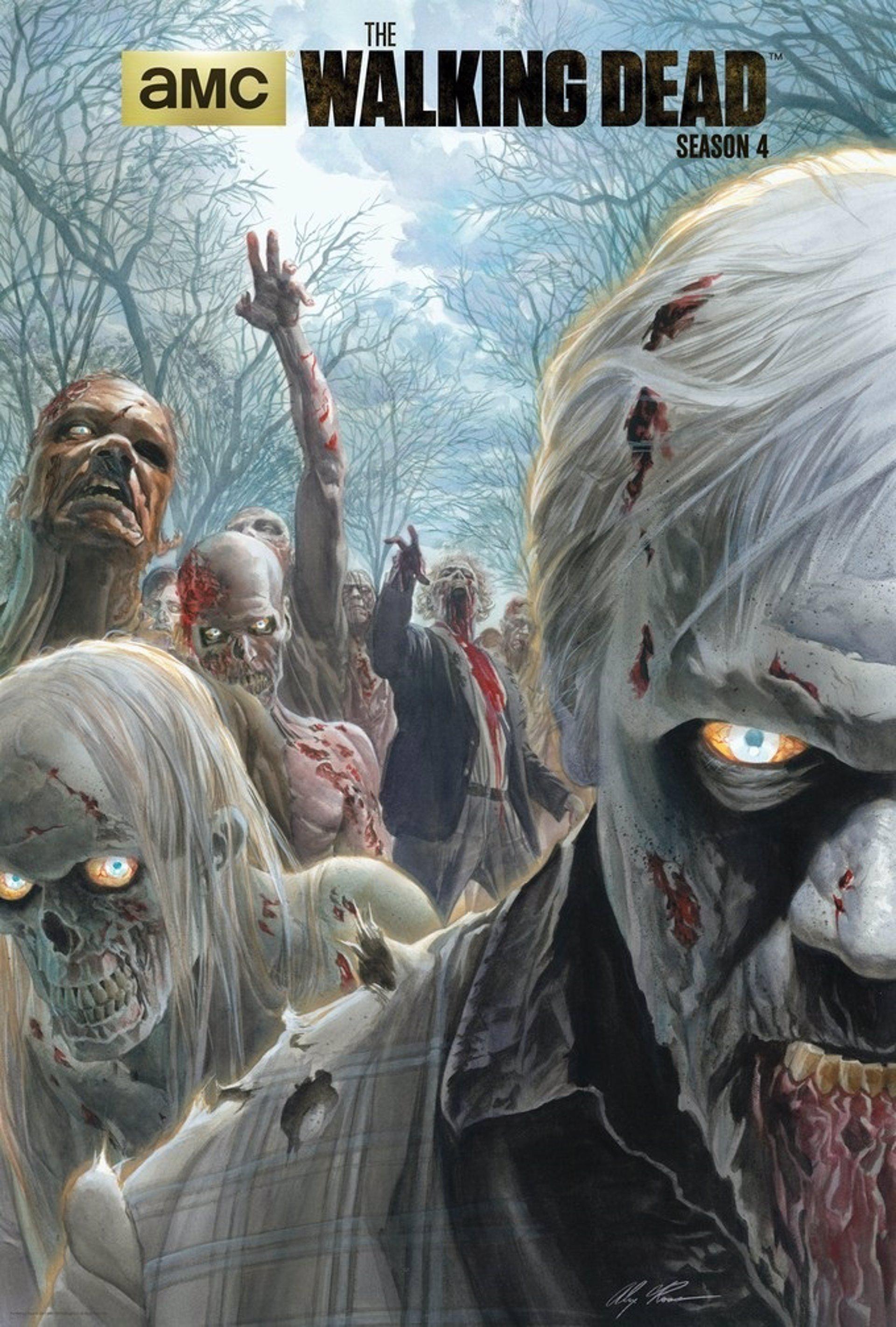The Walking Dead presenta su cartel para la Comic-Con
