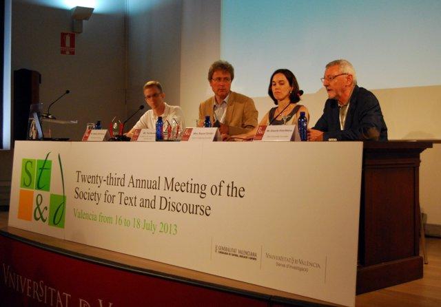 23ª Reunión De La Sociedad Del Texto Y El Discurso