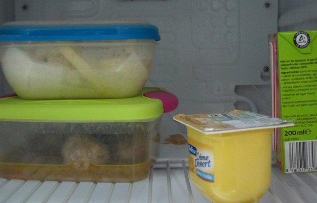 Alimentos, frigorífico, nevera, caducidad