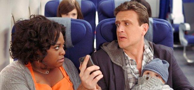 Jason Segel (Marshall) y Sherri Shepherd en Cómo Conocí a vuestra madre