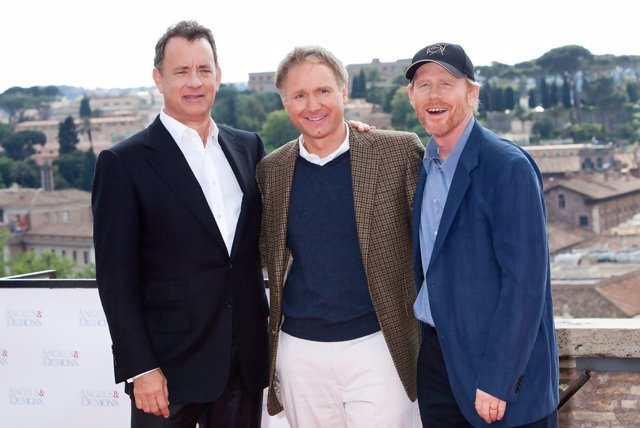 Tom Hanks y Ron Howard