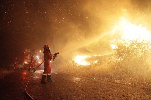 Incendio Almorox