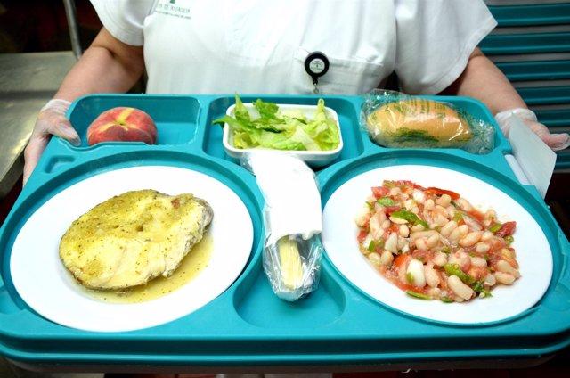 Menú de verano en hospitales