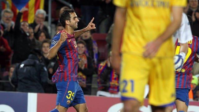 El Jugador Del FC Barcelona Martín Montoya