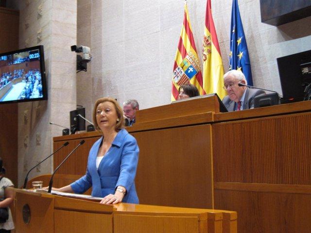 Luisa Fernanda Rudi, en el debate