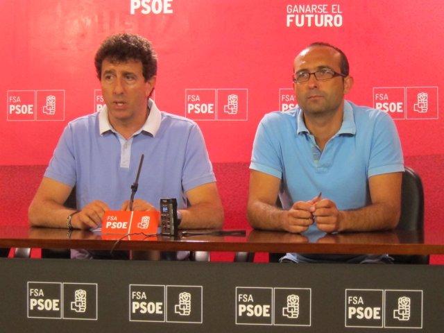 Jesús Gutiérrez y Damián Manzano