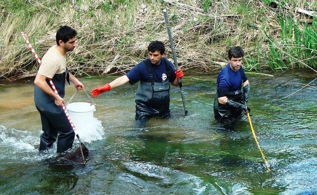 Martinez Capel e investigadores de su equipo