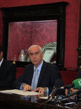 El consejero de Cultura y Deporte de la Junta de Andalucía, Luciano Alonso,