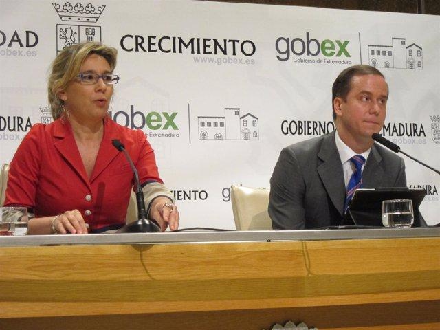 Cristina Teniente y Sergio Velázquez