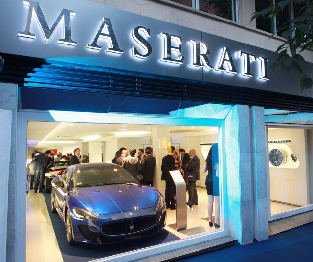 Nuevo Concesionario De Maserati En Madrid