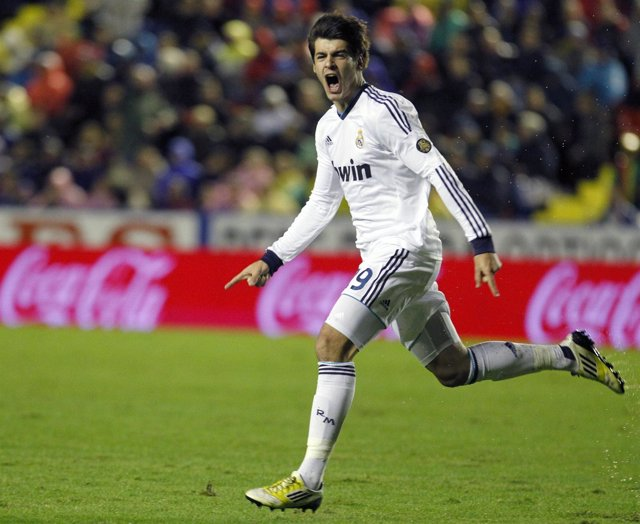 Morata, del Real Madrid