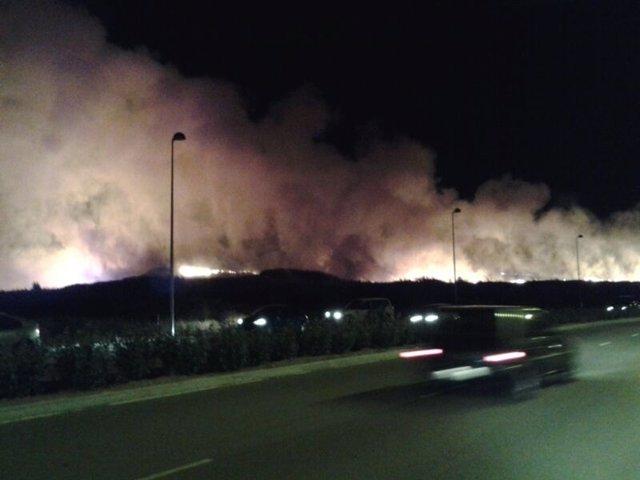 Incendio en Arroyo