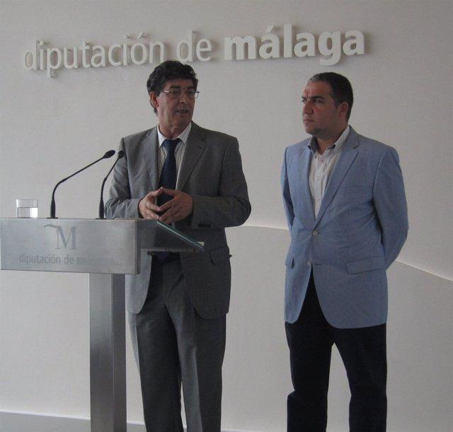 Diego Valderas y Elías Bendodo