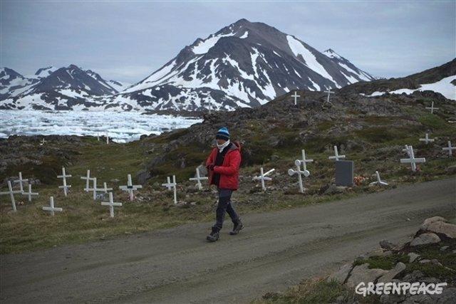 Expedición al Ártico de Greenpeace, día 1.