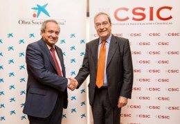 Acuerdo CSIC La Caixa divulgación científica
