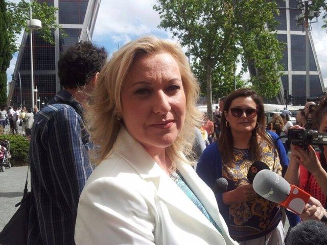 Presidenta de SOS Bebés Robados Murcia y también víctima, Inés Madrigal