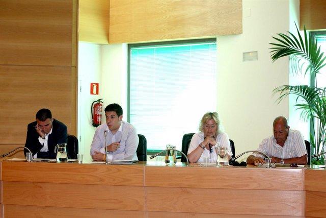 Concejales de UPyD en el Pleno