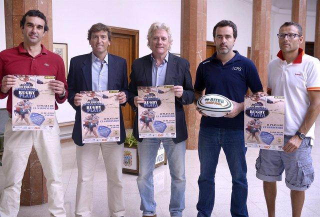 Presentación del Torneo Internacional de Rugby Playa
