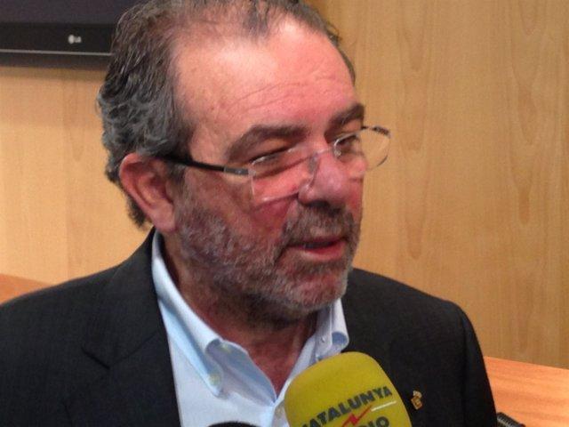 El presidente de la Diputación de Lleida, Joan Reñé