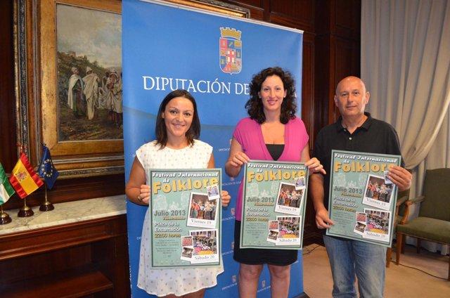 Presentación del Festival Internacional de Folklore de Vélez-Rubio