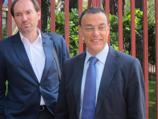 Ignacio Caraballo, tras reunirse con Renfe