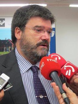 Juan María Aburto, consejero de Empleo, Políticas Sociales y Vivienda