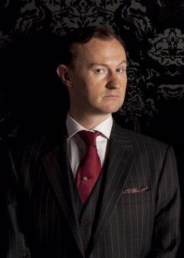 Mark Gatiss en Sherlock
