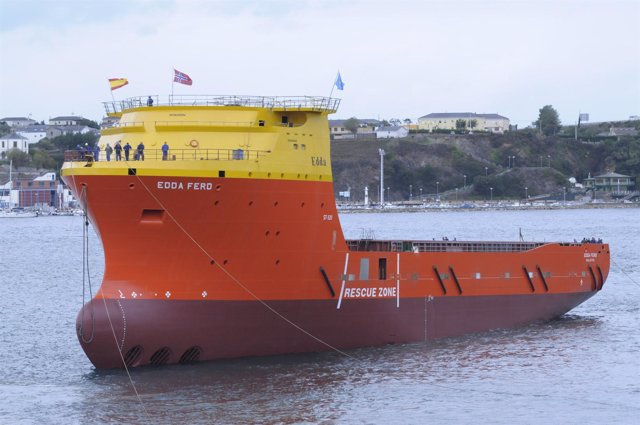 El barco 'Edda Ferd' de Astilleros Gondán