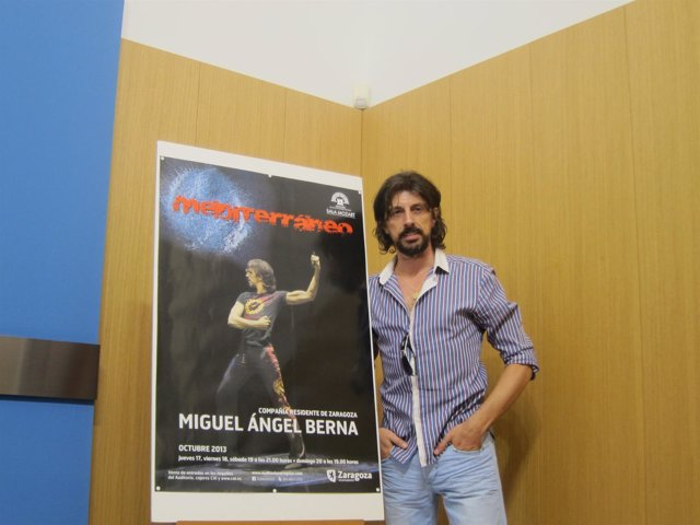 El bailarín Miguel Ángel Berna.