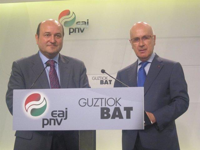 Andoni Ortuzar y Josep Antoni Duran i Lleida
