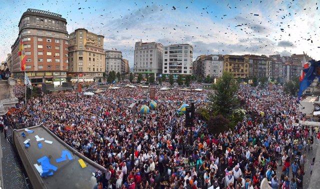Chupinazo de la Semana Grande de Santander