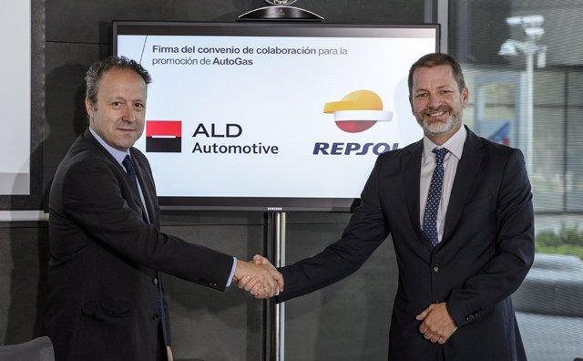 Acuerdo entre Repsol y ALD Automotive