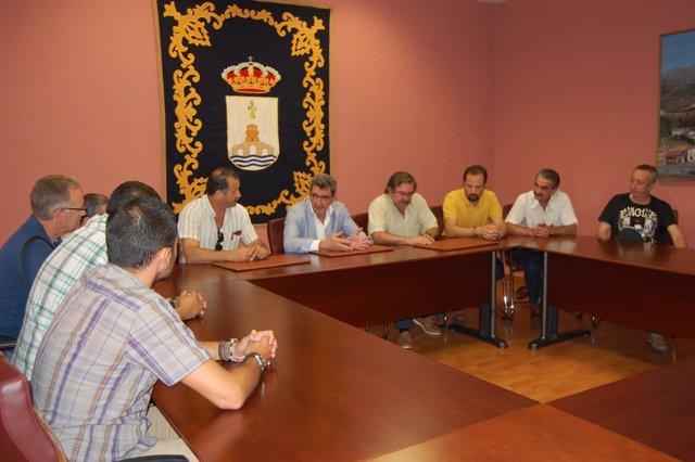 Gutiérrez Limones se ha reunido con el comité de empresa.